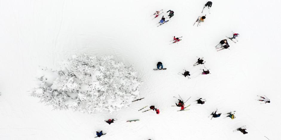 Kayak turizminin zirvesi: Uludağ