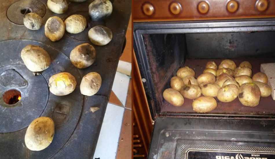 Kuzinede enfes patates tarifi! Bütün patates kaş dakikada pişer?