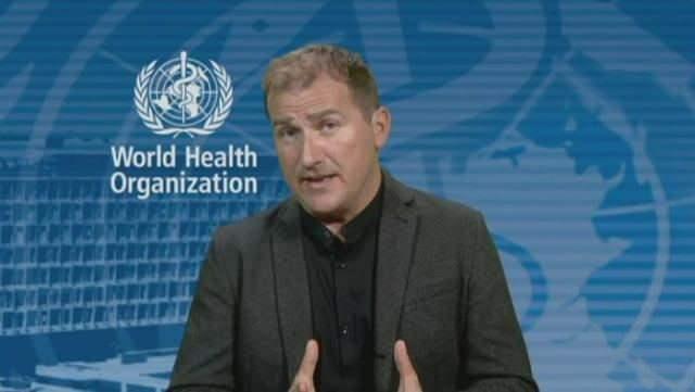 Dünya Sağlık Örgütü Sözcüsü Tarik Jasarevic.