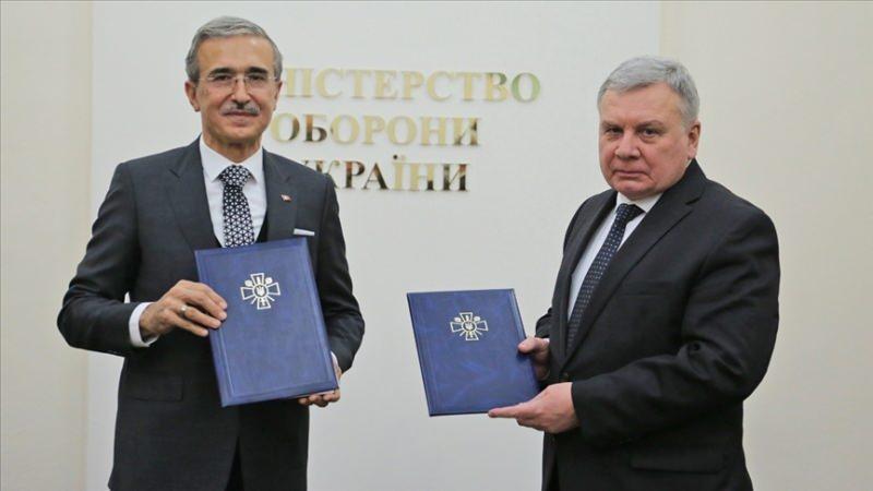Ankara ile Kiev arasındaki anlaşma Ukrayna'da imzalanmıştı.