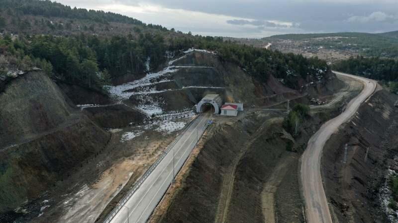 Kızılcahamam-Çerkeş Tüneli bugün hizmete girecek