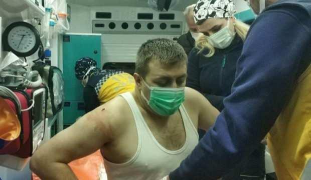 5 lira vermeyen güvenlik görevlisini bıçaklayarak hastanelik etti