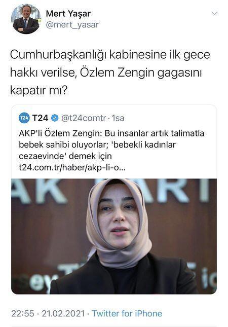 Hukukçu Mert Yaşar'dan AK Partili Özlem Zengin'e ağır hakaret! - GÜNCEL  Haberleri
