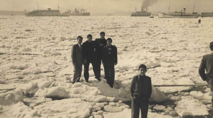 24 Şubat 1954'te İstanbul Boğazı buz tutmuştu.