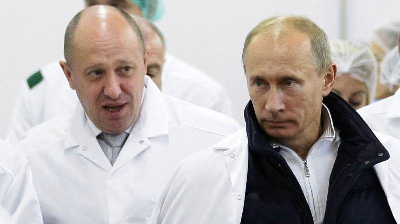 Yevgeniy Viktoroviç Prigojin ve Vladimir Putin