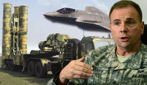 ABD'li komutandan S-400 ve F-35 açıklaması! 'YPG'ye silah vermemiz hataydı'