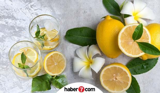 Aç karnına limonlu su içmenin faydaları nelerdir? Limon suyu zayıflatır mı? limonlu su tarifi..