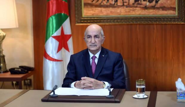 Cezayir Cumhurbaşkanı Tebbun'dan 'Yolsuzluk ve nefretin olmadığı bir cumhuriyet' sözü