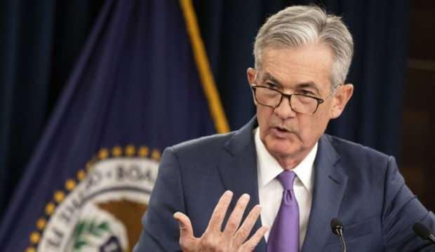 """Fed Başkanı Powell: """"Ekonomi, istihdam ve enflasyon hedeflerimizden çok uzak"""""""
