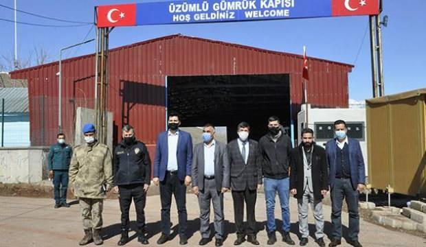 Hakkari'deki Üzümlü Sınır Kapısı yeniden açıldı