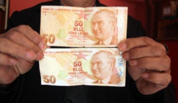 Hatalı basım 50 lirasını koleksiyonculara satmak istiyor