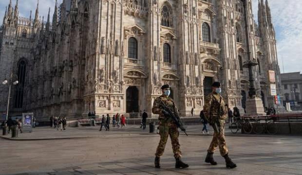 İtalya'da Kovid-19 salgınında son 24 saatte 18 bin 916 yeni vaka görüldü