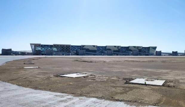Kıbrıs'ın en büyük havalimanında sona doğru