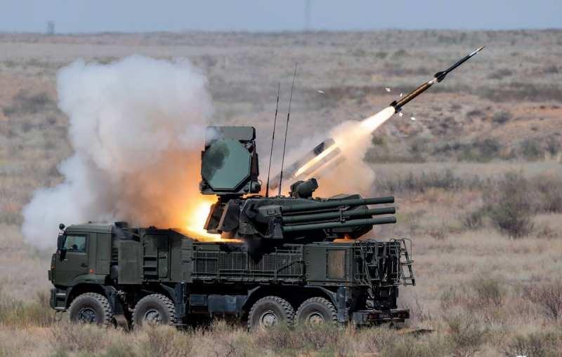 Rus hava savunma sistemi Pantsir