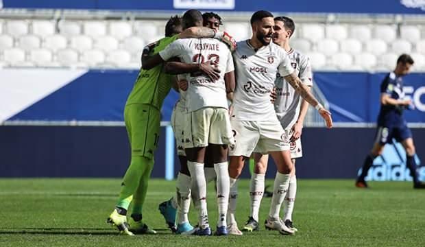 Metz, deplasmanda Bordeaux'u mağlup etti!