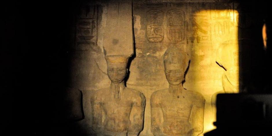 Mısır'da görüldü! Yılda sadece iki kez gerçekleşen doğa olayı