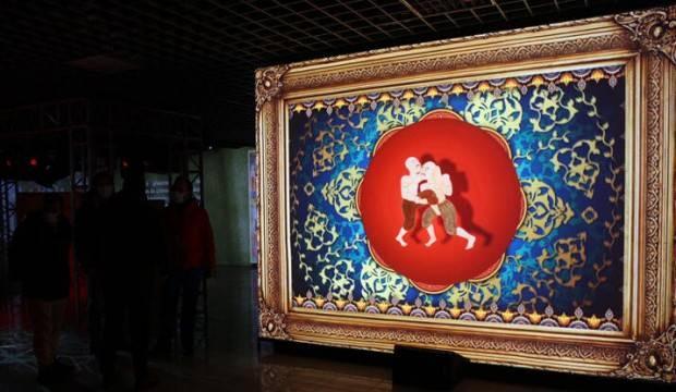 Nakkaş Osman Surname-i Hümayun Dijital Minyatür Sergisi ilgiyle takip ediliyor