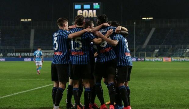 Napoli, deplasmanda Atalanta'ya kaybetti!