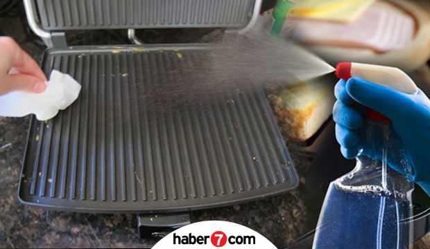 Tost makinesi nasıl temizlenir? Sirkeli su ile tost makinesi temizleme yöntemi...