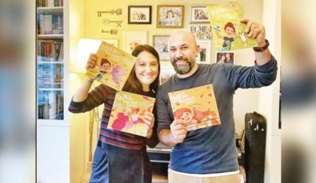 Oyuncu Gupse Özay miniklere özel hikaye kitabı yazdı!