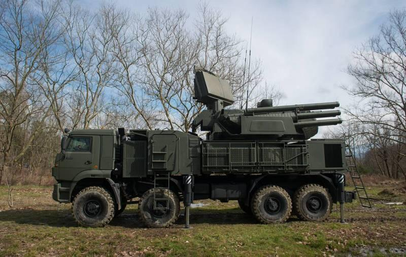 Rus yapımı Pantsir-S1