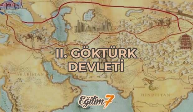 2. Göktürk devletinin tarihi | Kutluk devleti en parlak dönemi, hükümdarları ve yıkılışı