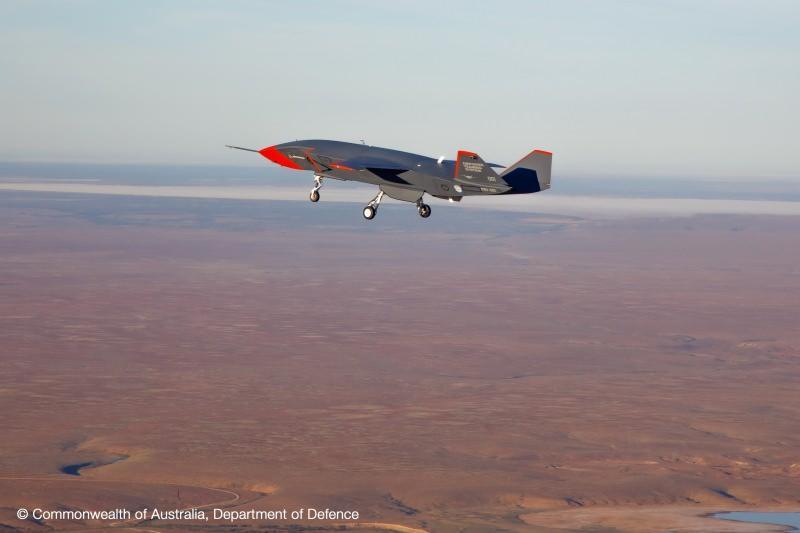 Boeing firması uçuştan bir kare yayınladı.