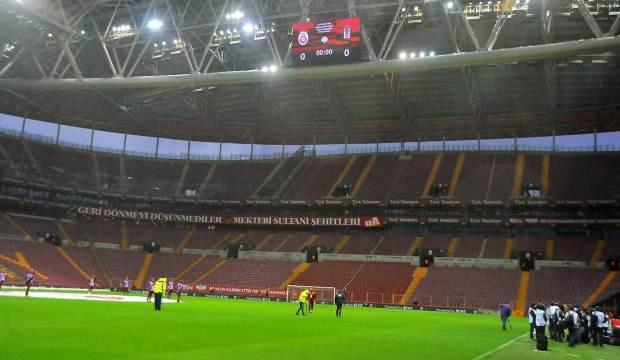 Türk Telekom Stadyumu bakıma alındı