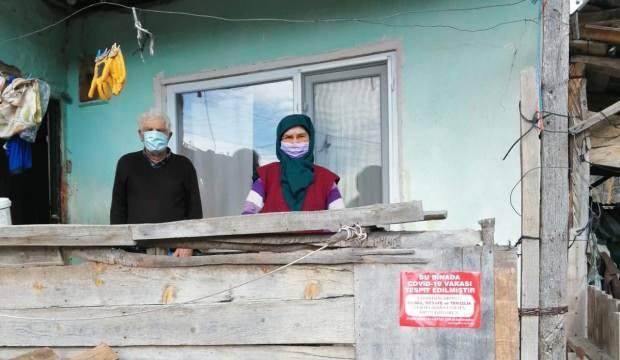 Hasta ziyaretine gidip koronavirüse yakalandılar, mahallenin yarısı karantinaya alındı!
