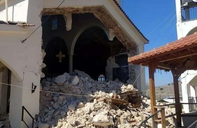 Kırsal kesimlerde bazı binalarda kısmi yıkılmalar meydana geldi.
