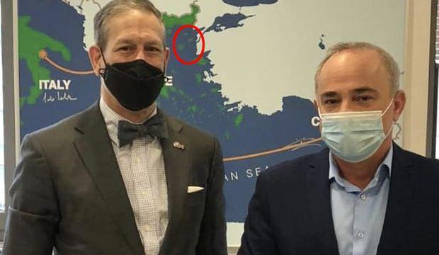 ABD ve İsrail'den harita skandalı! Türkiye'nin topraklarını Yunanistan'a verdiler
