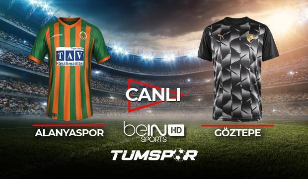 Alanyaspor Göztepe maçı canlı izle! | BeIN Sports Alanya Göztepe maçı şifresiz canlı skor takip