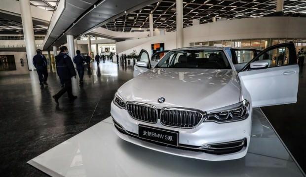Alman devi BMW'nin satışları rekor kırdı