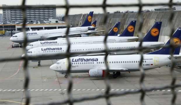 Alman devi Lufthansa'dan 2020'de rekor zarar