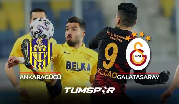 Ankaragücü Galatasaray maçı BeIN Sports geniş özeti ve golleri! | Cimbom deplasmanda mağlup!