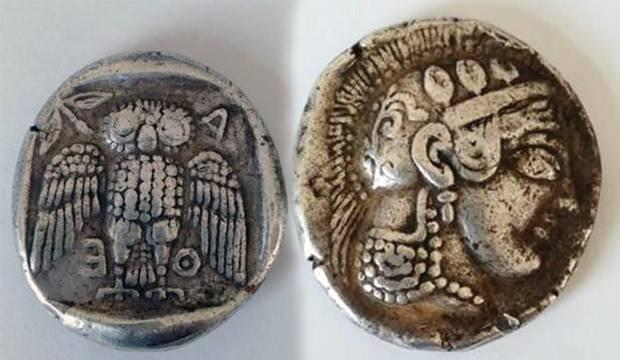 Dünyada sadece 42 tane olan ve piyasa değeri 1 milyon dolar olan Grek sikkesi Muğla'da bulundu