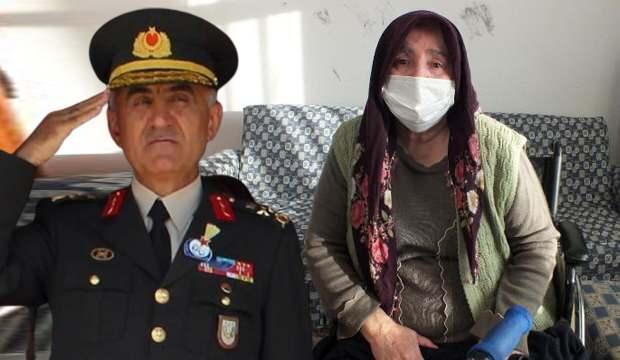 Şehit Korgeneral Erbaş ve ablası