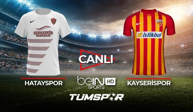 Hatayspor Kayserispor maçı canlı izle! | BeIN Sports Hatay Kayseri maçı canlı skor takip
