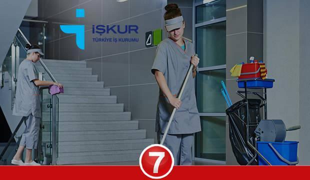 İŞKUR en az ilkokul mezunu temizlik görevlisi alımı devam ediyor!