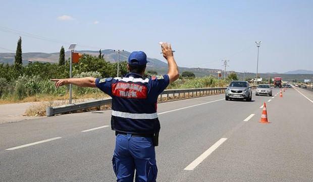 Jandarma trafik bölgesinde drone kullanacak