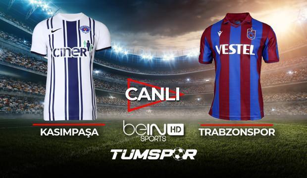 Kasımpaşa Trabzonspor maçı canlı izle   BeIN Sports Kasımpaşa TS maçı şifresiz canlı skor takip