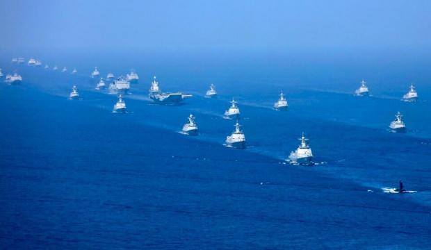 Lider değişti: Çin donanması ABD'yi tahtından indirdi