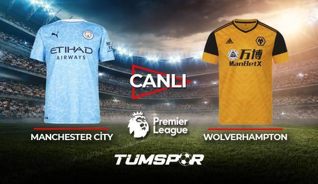 Manchester City Wolverhampton maçı canlı izle! | City Wolves maçı şifresiz canlı skor takip