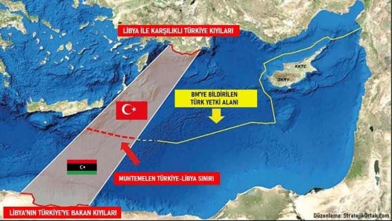 Türkiye ile Libya'nın anlaşması