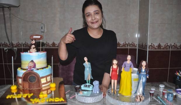 Hakkari'de bir kadın mutfağını atölyeye çevirerek iş sahibi oldu! Siparişlere yetişemiyor