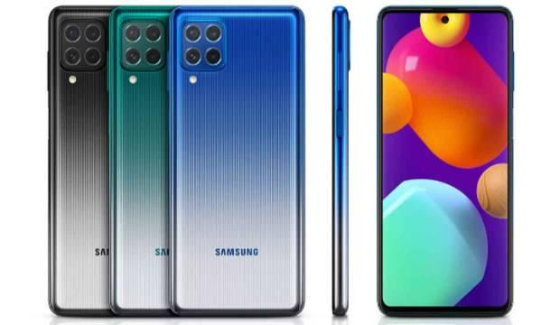 Samsung dev batarya kapasiteli Galaxy M62'yi tanıttı