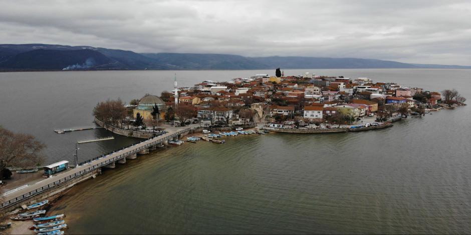 Sular yükseldi, Türkiyenin Venedik'i  yeniden ada oldu