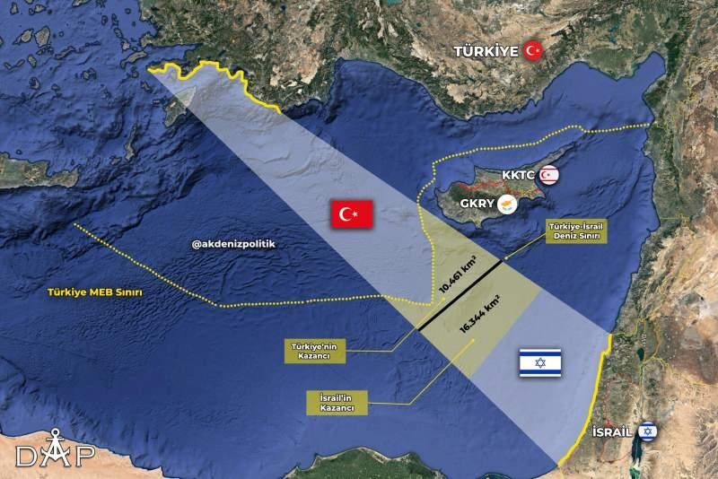 Cihat Yaycı, İsrail ve Türkiye'nin denizden komşu olduğunu belirtiyor.