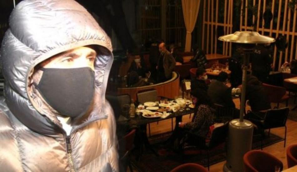 Yaşar İpek'in de olduğu lüks restorana koronavirüs baskını! 100 kişiye para cezası uygulandı