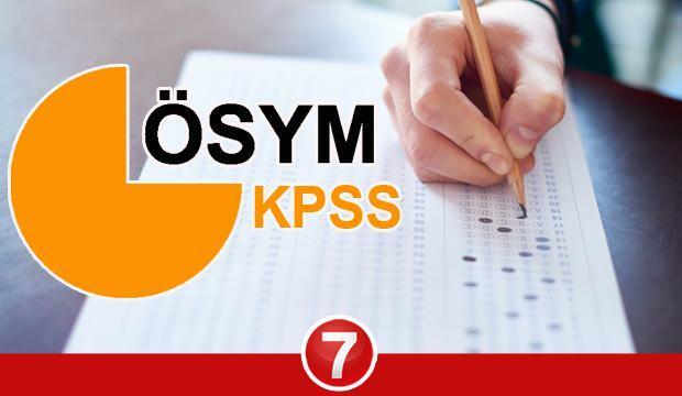 ÖSYM KPSS sınav takvimini açıkladı! KPSS lisans sınavı 2021 yılında ne zaman yapılacak?